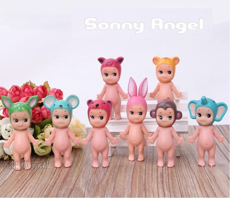 High quality 8pcs/lset 8cm Kewpie Dolls Sonny Angel Laduree Pvc Action figures kids toys Christmas Gifts juguetes brinquedos(China (Mainland))
