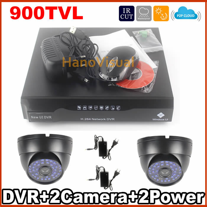 4CH DVR Kit P2P Cloud FTP 900tvl CMOS Sensor CCTV System Waterproof CCTV Camera Kit Home Security Camera System Free Shipping<br><br>Aliexpress
