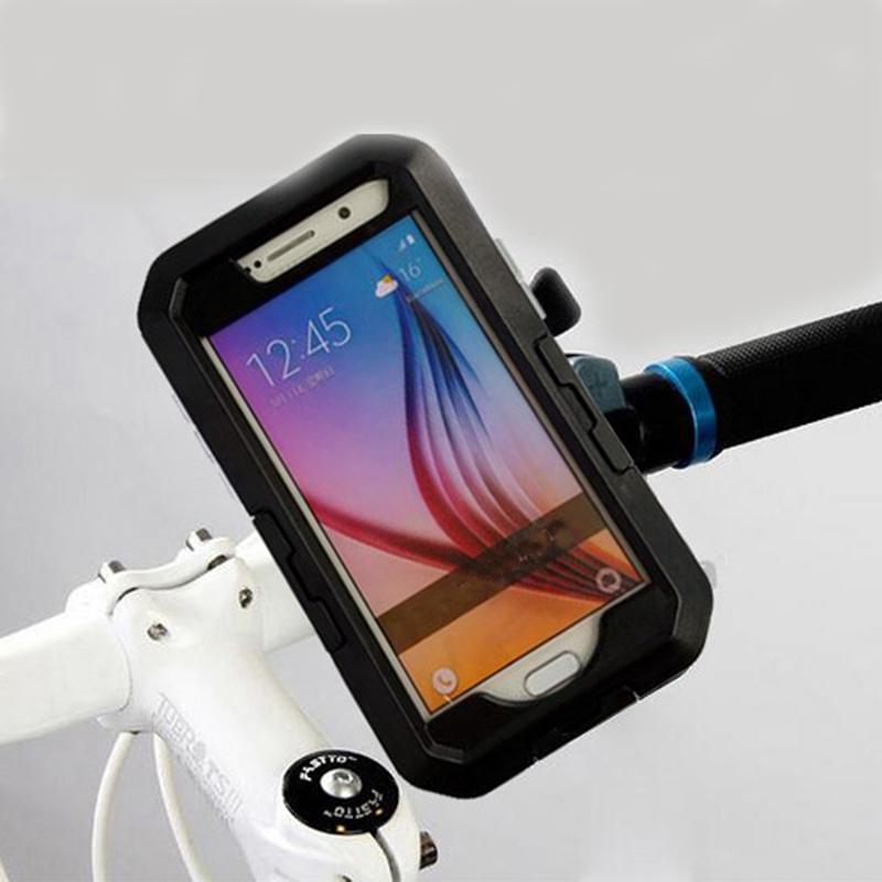 Высокое качество ipx8 Водонепроницаемый велосипед мотоцикл Универсальный мобильный держатель сотового телефона для Samsung Галактики S5 с GPS стоит