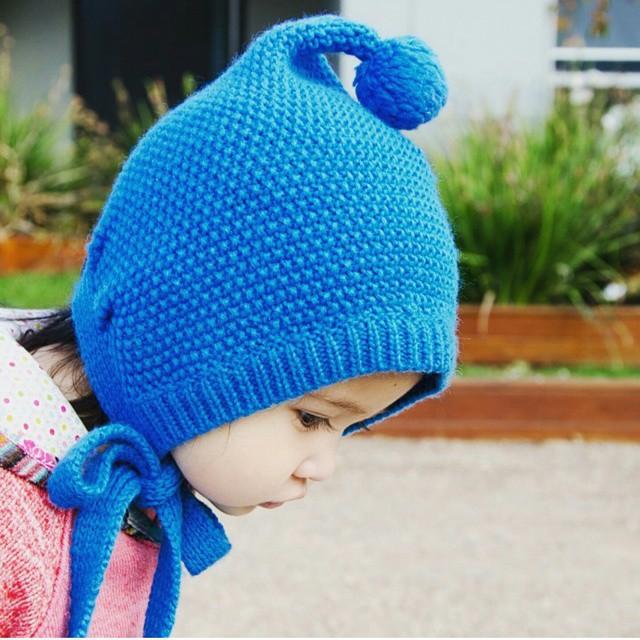 2015 Korean New Fashion Baby Girls Boys Kids Children Dual Ball Knit Sweater Cap Hats Winter Warm Knitted(China (Mainland))