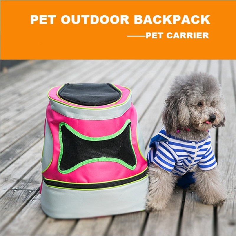 Buy new spring pet backpack outdoor dog carrier portable travel bag