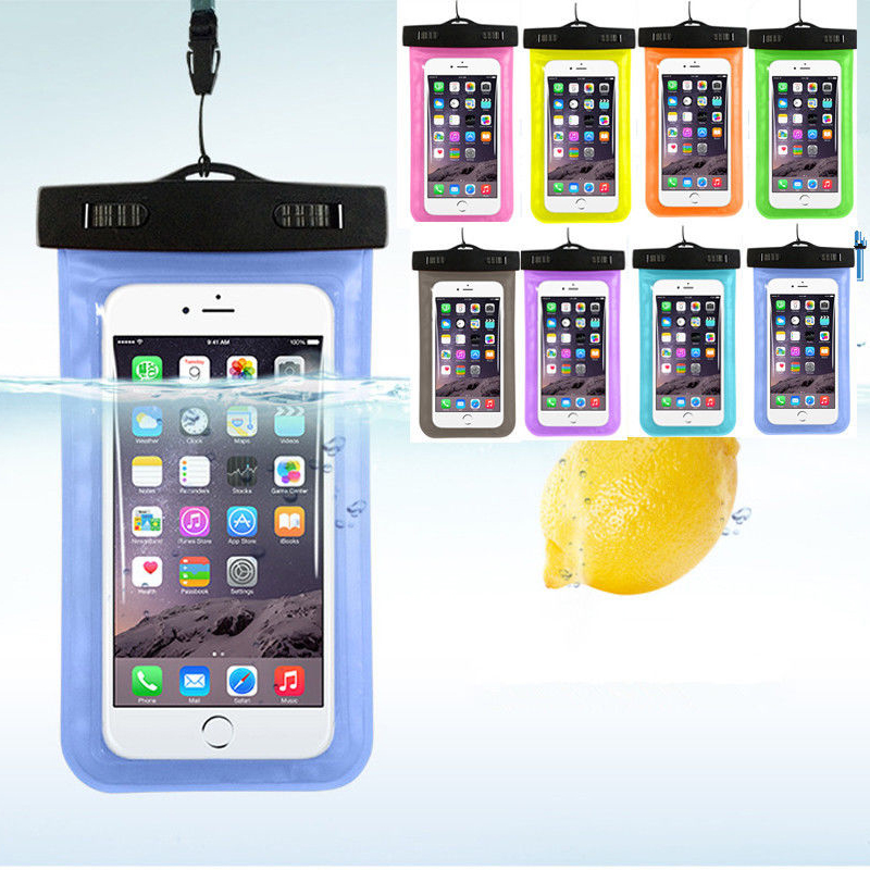 Hot sale Transparent Waterproof Underwater Pouch Dry Bag Case Cover For iPhone Cell Phone Touchscreen Mobile Phone(China (Mainland))