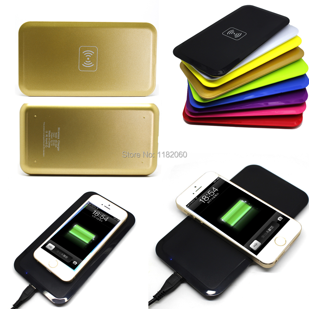 Colorful New Wireless Qi Power Pad Charger Charging iPhone Samsung Galaxy Note2 Nexus4 Nokia - etopmall store