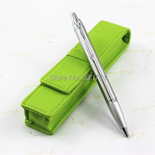 Free shipping .Parker pen IM series.Stainless steel ballpoint Pen /The green  pen bag # + the best gift<br><br>Aliexpress