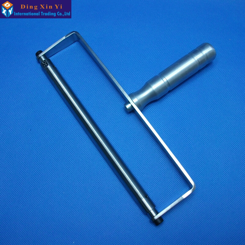 New arrival Stainless steel 20um Wire rod coating machine with handle Rod Scraping Ink Stick With Handle<br><br>Aliexpress