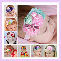 Free Shipping 20pcs/lot Hot Style Infant Toddle Elastic Felt Hair Accessories Children Headband with Bowknot for Girls(China (Mainland))
