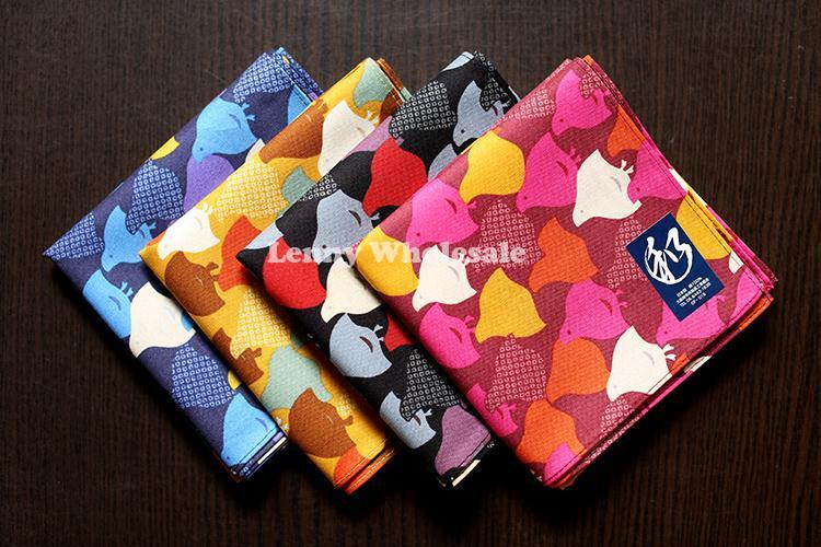 High quality happy birds mens pocket square hankerchief ,52*52cm pocket squares men ladies cotton handkerchiefs free shipping(China (Mainland))