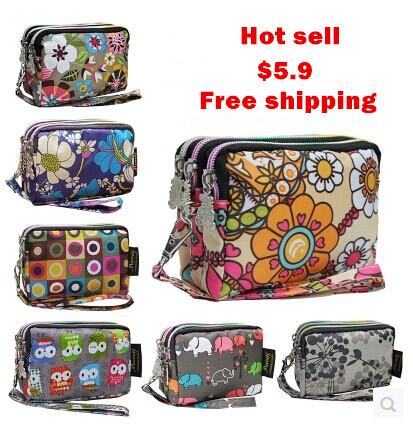 2013womens hot-selling handbag coin purse cosmetic bag flower design<br><br>Aliexpress