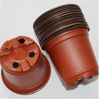 Wholesale flower pots, mini flowerpot garden, unbreakable plastic nursery pots, (light, thin), 20 pcs(China (Mainland))