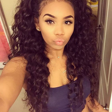 250% Density Full Lace Human Hair Wigs For Black Women 8A Lace Frontal Wig Brazilian Loose Curly Wave Lace Front Human Hair Wigs(China (Mainland))