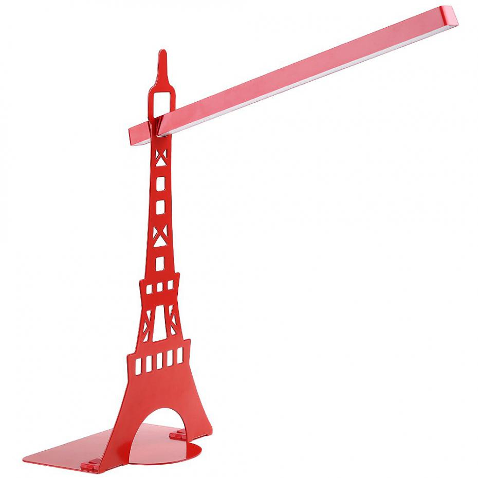LED Touch On/off Switch Desk Lamp Children Eye Protection Student Study Reading Light Eiffel Tower Touch USB Led Table Lamps(China (Mainland))