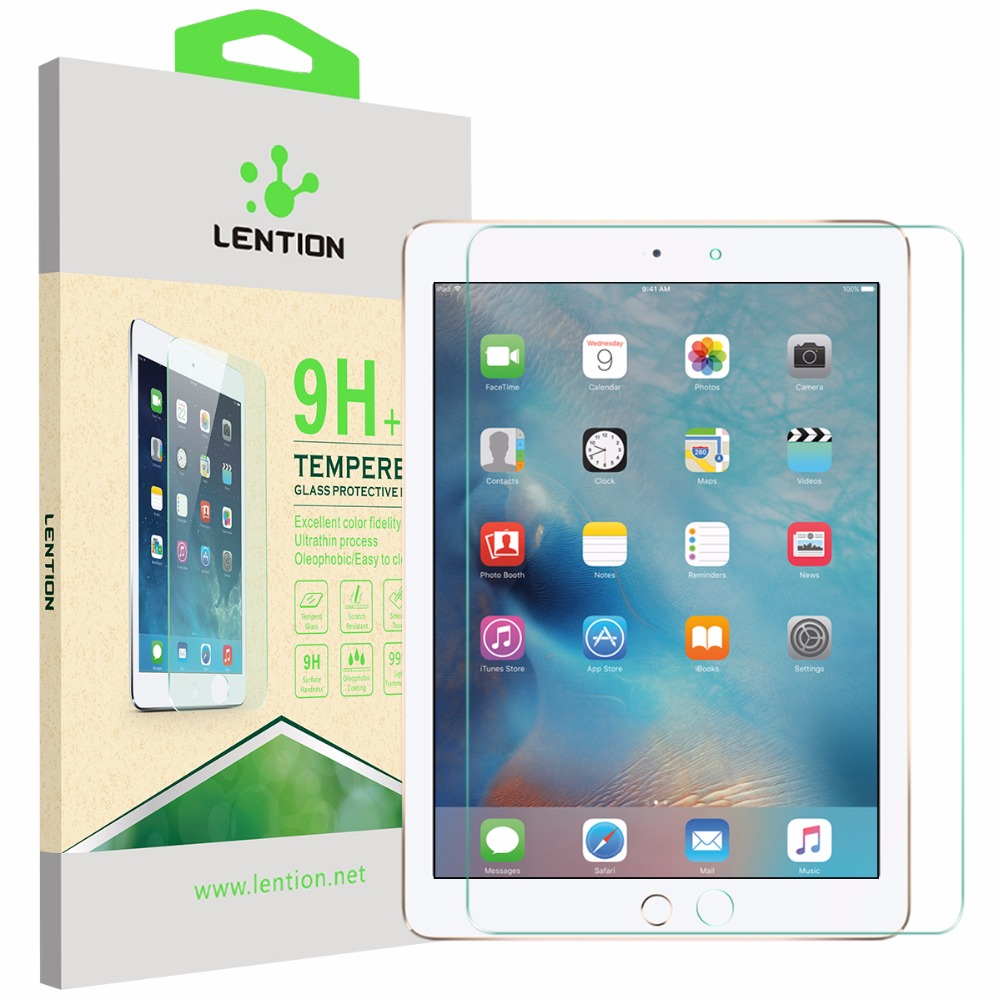 Super Protection 0.3mm Tempered Glass Protector Ultra Thin Touch Pelicula Film For Apple iPad Air 1 2 Original Gorilla Screen(China (Mainland))