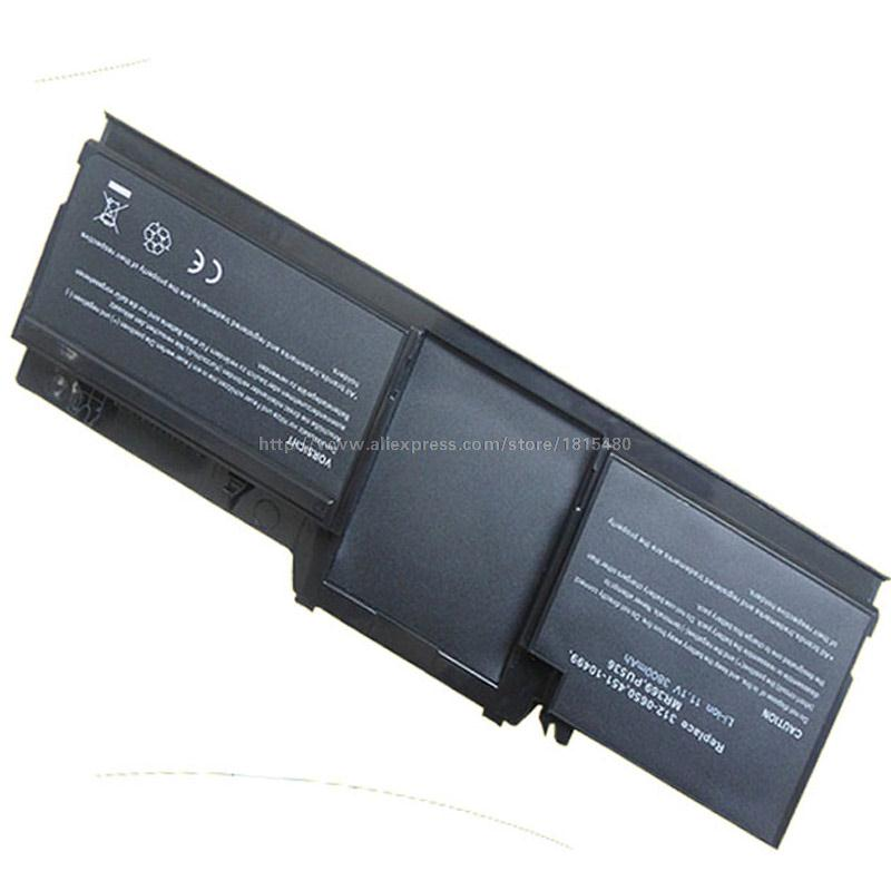 3800mAh 6 Cells Laptop Battery For Dell Latitude XT Tablet PC 312-0650 MR369 PU536(China (Mainland))