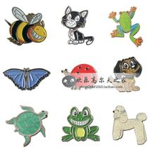 Free Shipping Golf Hat Visor Clip, Golf Ball Marker, 9 Kinds, Animal Golf Ball Markers, Golf Accessories, Wholesale Price.(China (Mainland))