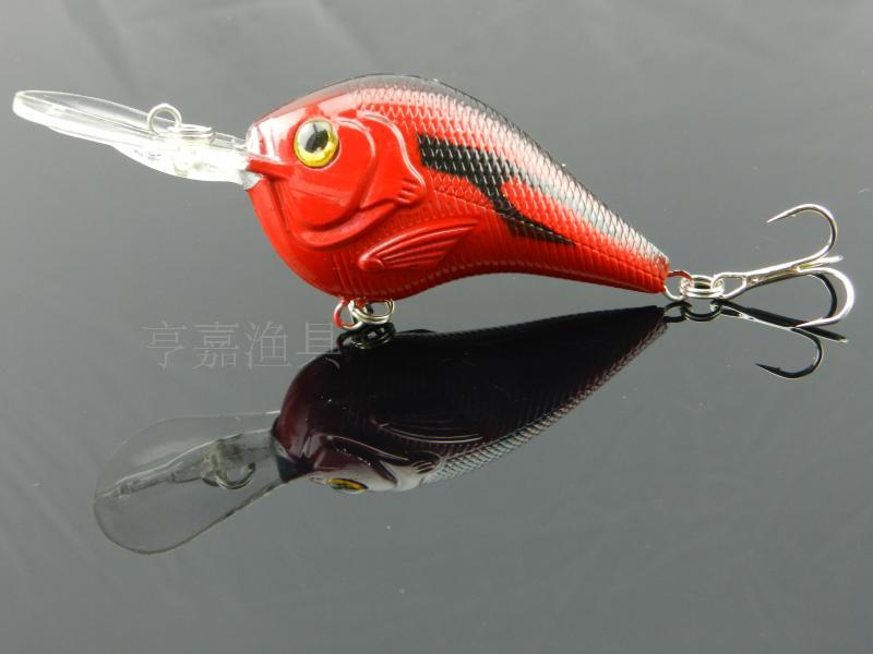 50pcs 3D Crank bait 7 colors 11.2g/9.5cm High Quality Fishing lure 6# Hook Diving Depth 1.2m-2.7m fishing tackle Free Shipping<br><br>Aliexpress