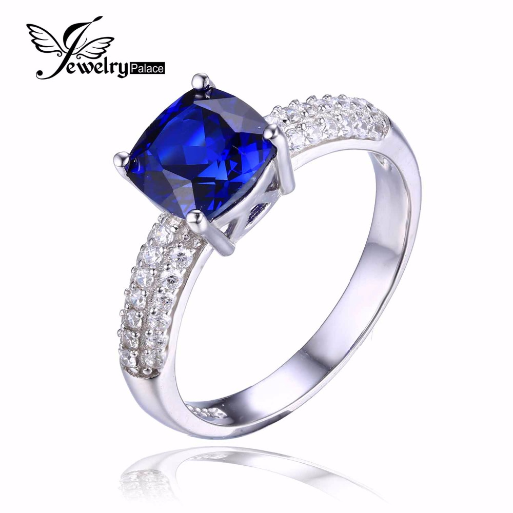 line Get Cheap Blue Sapphire Engagement Rings Aliexpress