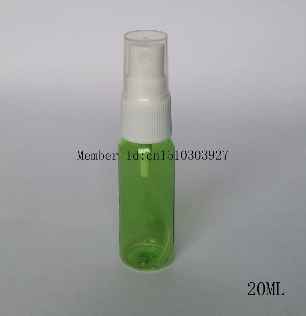 20ML pet plastic bottle,refillable bottle,mist sprayer,spray bottle perfume parfum refillable perfume atomizer(China (Mainland))