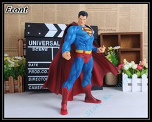 Big size 30cm Superman Action Figures PVC brinquedos Collection Figures toys for christmas gift with Retail box AnnO00280A