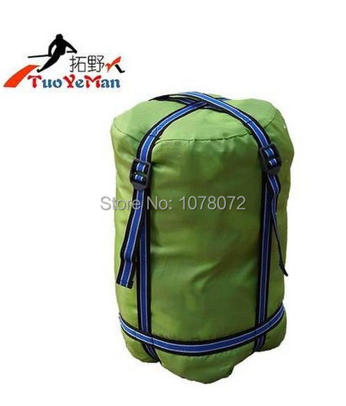 Compression outdoor camping bag containing only the envelope , not including sleeping bags(China (Mainland))