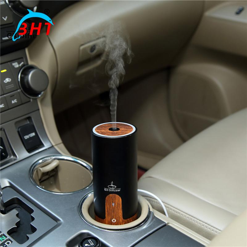 Super Mute Magic Stone Car Aroma Diffuser Essential Oil Humidifier Mini Environmental Air Purifier USB Portable Home Air Cleaner(China (Mainland))