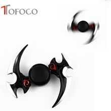 Buy TOFOCO Fidget Spinner Hand Spinner Spinner Weapons Game Cosplay Anime Darts Zinc Rotated Alloy Collection Model Toys Action Fig for $3.90 in AliExpress store