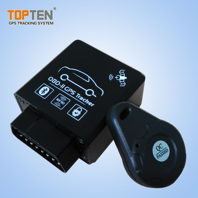 OBD2 Bluetooth Scanner with Keyless RFID for Fleet Management Reading Fuel Consumption TK228(China (Mainland))
