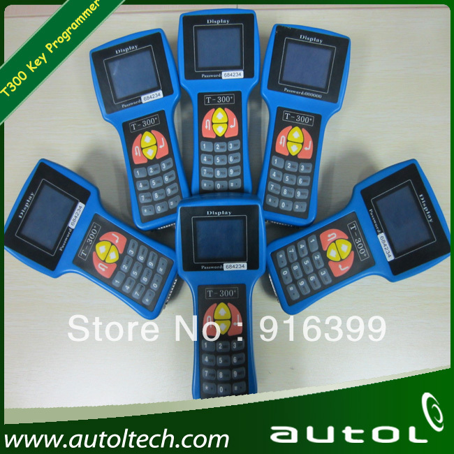 2012 Promotion Sale T300 Key Programmer Newest Version V13.01 Universal Car Key Transponder + DHL Free Shipping(China (Mainland))