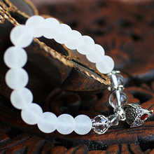 Bohemian National Wind jewelry frosted white crystal bracelet with jewelry Lijiang in vintage female bracelets Features(China (Mainland))