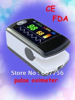Pulse Oximeter Fingertip Color OLED Oximeter -FDA and CE Approved