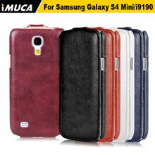 for samsung galaxy s4 mini case Samsung s4 mini i9190 flip case cover for samsung galaxy s4 mini i9190 imuca case(China (Mainland))