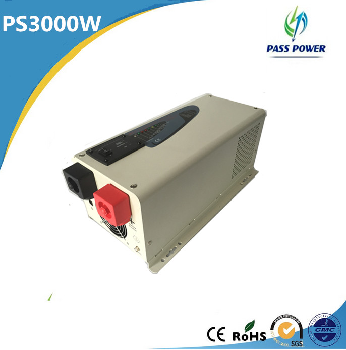 New design Off-grid low frequency UPS 3000w hybrid solar inverter with LCD display ,one year warranty !(China (Mainland))