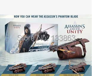 Wholesale for 10pcs Assassins Creed 5 Unity Hidden Blade Action Figure Edward Kenway Cosplay Costume, ASSASSIN'S phantom blade