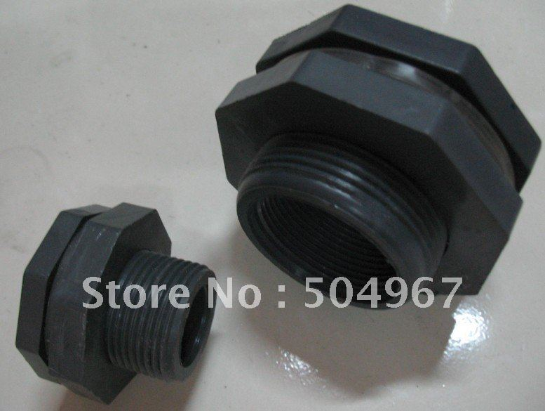"""pipe fittittings/ pvc pipe fittings/ pvc tank adapter 2"""" (DIN) Longer and thicker type(China (Mainland))"""