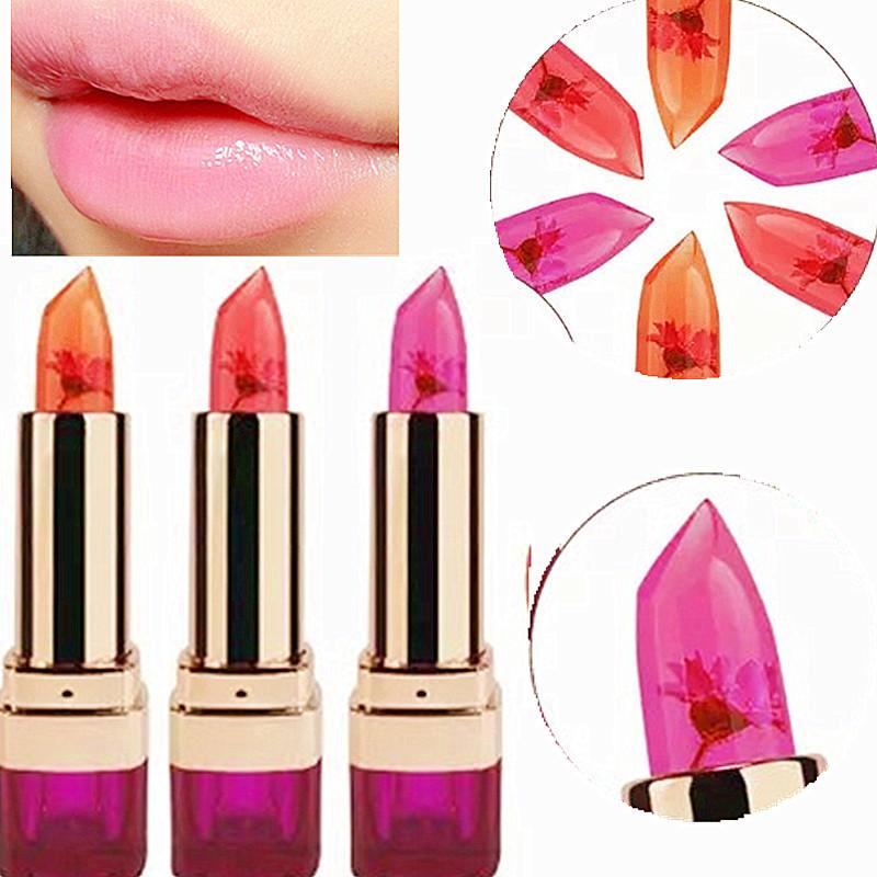 1Pcs Waterproof Double nursing natural protection The flowers do not fade beauty lipstick lip gloss(China (Mainland))