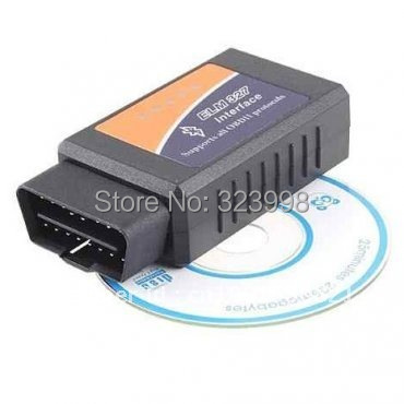 elm327 bluetooth ELM 327 Interface OBD2 / OBD II Auto Car Diagnostic Scanner OBDII Works On Android Torque