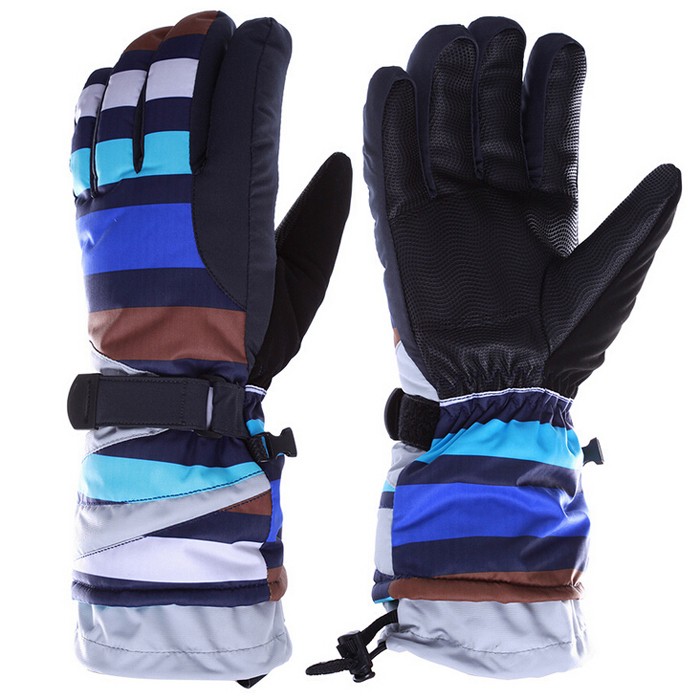 Waterproof Windproof Winter Ski Gloves Snow Skateboard Hiking Snowboard Snowmobile Gloves Winter Outdoor Equipment(China (Mainland))