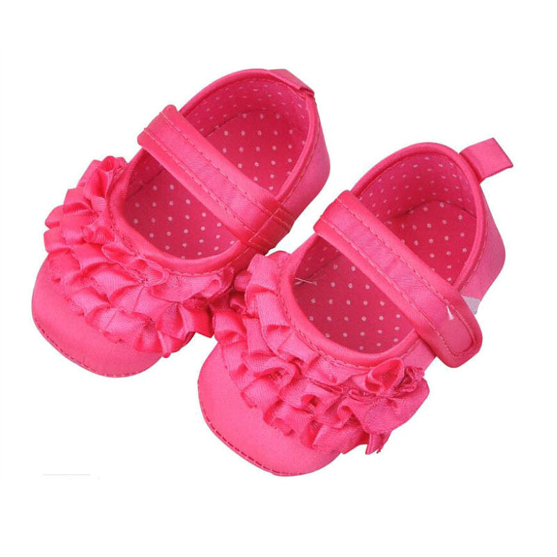Baby Girls Shoes Princess Dress Shoes Baby Crib Footwear Children's First Walkers Toddler Sneakers Lace up Bow Flowers Summer(China (Mainland))