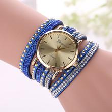 Fashion Casual Geneva Wristwatch Watch Women Gold Bracelet Dress Watch Lady s Quartz