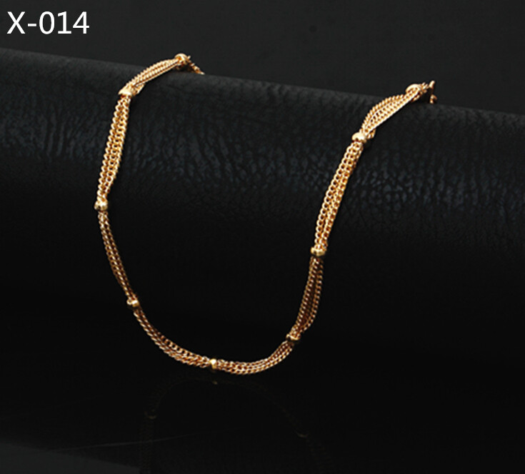 2016 Multilayer Gold Anklet Beach Foot Jewelry Barefoot Sandals 18k Platinum Plated Summer Jewelry Cute Ocean Beach Bracelet 014(China (Mainland))