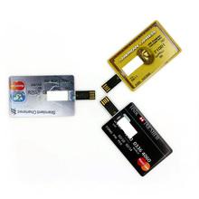 Genuine E-DREAM 8GB 16GB 32GB 64GB HSBC MasterCard credit card USB Flash Drive Card Pen drive disk(China (Mainland))