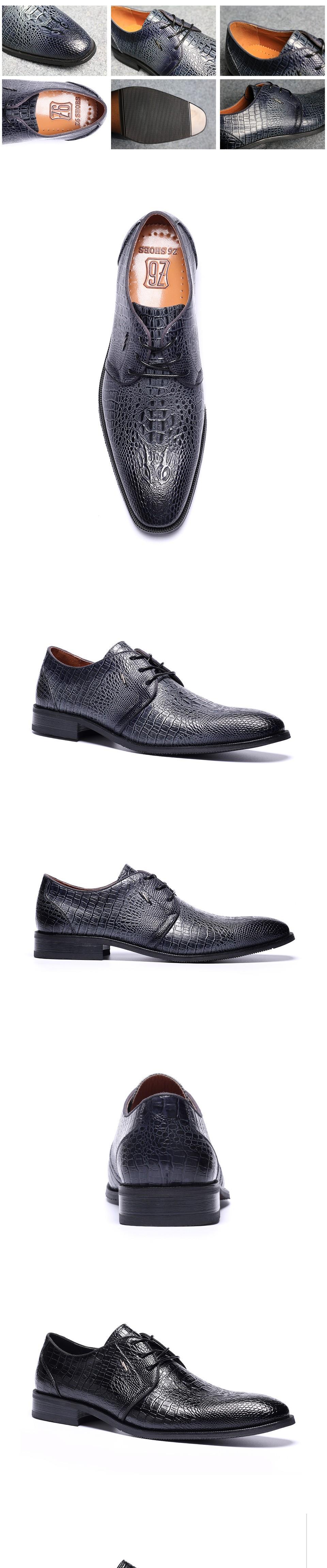 39-48 Men oxfords big size handsome comfortable Z6 brand men wedding shoes #w6267