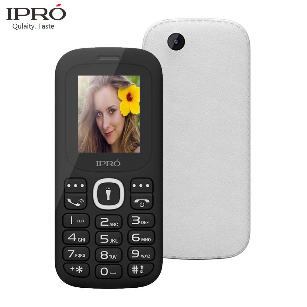 IPRO Original 1.77 Inch I3185 Unlocked Mobile Phones GSM SC6531DA Bluetooth Cell Phone With English Spainish Dual Card Slot(China (Mainland))
