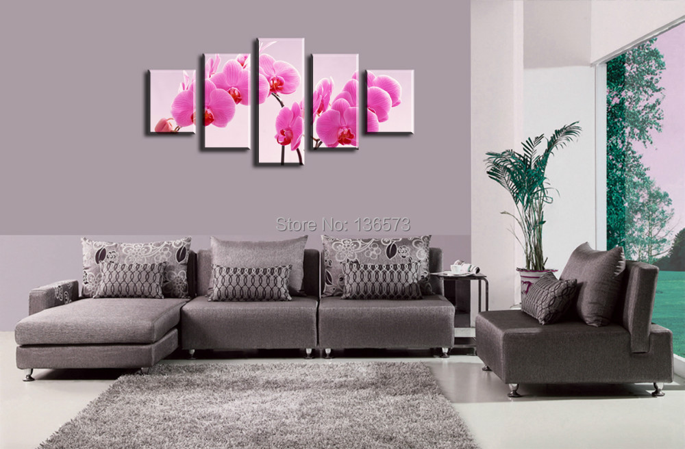 large canvas art cheap 5 panel living room wall decor pictures