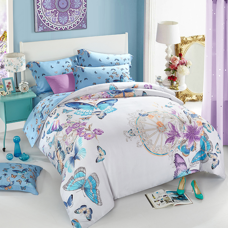 Queen Size Butterfly Comforter Sets Promotion Shop For