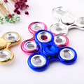 New Tri Spinner Fidgets Toy Plastic EDC Sensory Fidget Spinner For Autism and ADHD Kids Adult