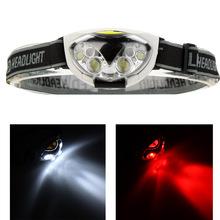 Resistente al agua 6 luces LED 1200 Lumens 3 modos exterior de excursión que acampa ciclismo linterna del faro portátil(China (Mainland))