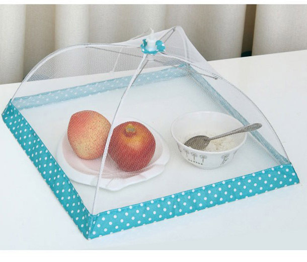 Free shipping New Folding Food Covers Table Fruit Cover Kitchen Special Tools 39*38*25cm Home/Restaurant/Hotel Use(China (Mainland))