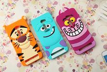 3D Cute Cartoon Animal Sulley Tiger Cat Soft Silicone Shockproof Phone Cover Case Asus Zenfone 2 ZE500CL 5.0 inch MG1 - Shenzhen Best Accessories store