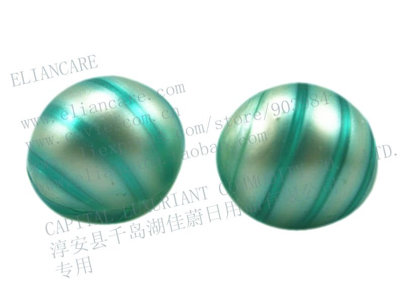4G SCENTED BLUE COLOR ROUND SHAPED BATH BEADS(China (Mainland))