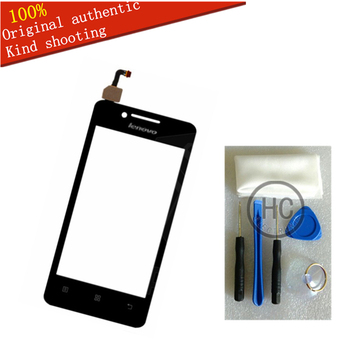 Free DIY Tools+Original New For Lenovo A319 Touch Screen Glass Capacitive sensor Lenovo a319 TouchScreen panel Black